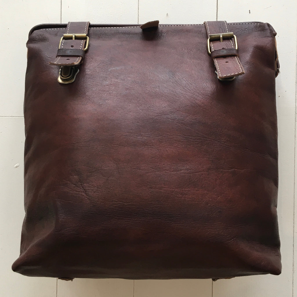 Leather BackPack - Cocoa Bag - Mashi Moosh