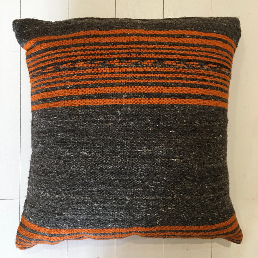 Berber Blanket Cushion Cushion - Mashi Moosh