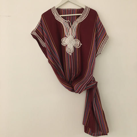 Kaftan - Striped (Medium-weight) Caftan - Mashi Moosh