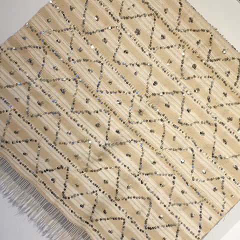 Vintage Handira (Wedding Blanket) Blanket - Mashi Moosh