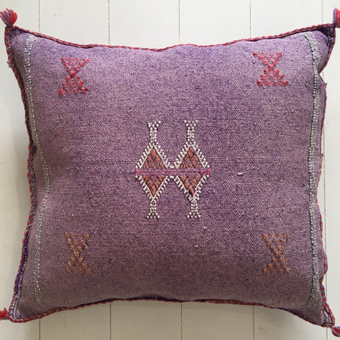 Cactus Silk Cushion (Purple Haze)