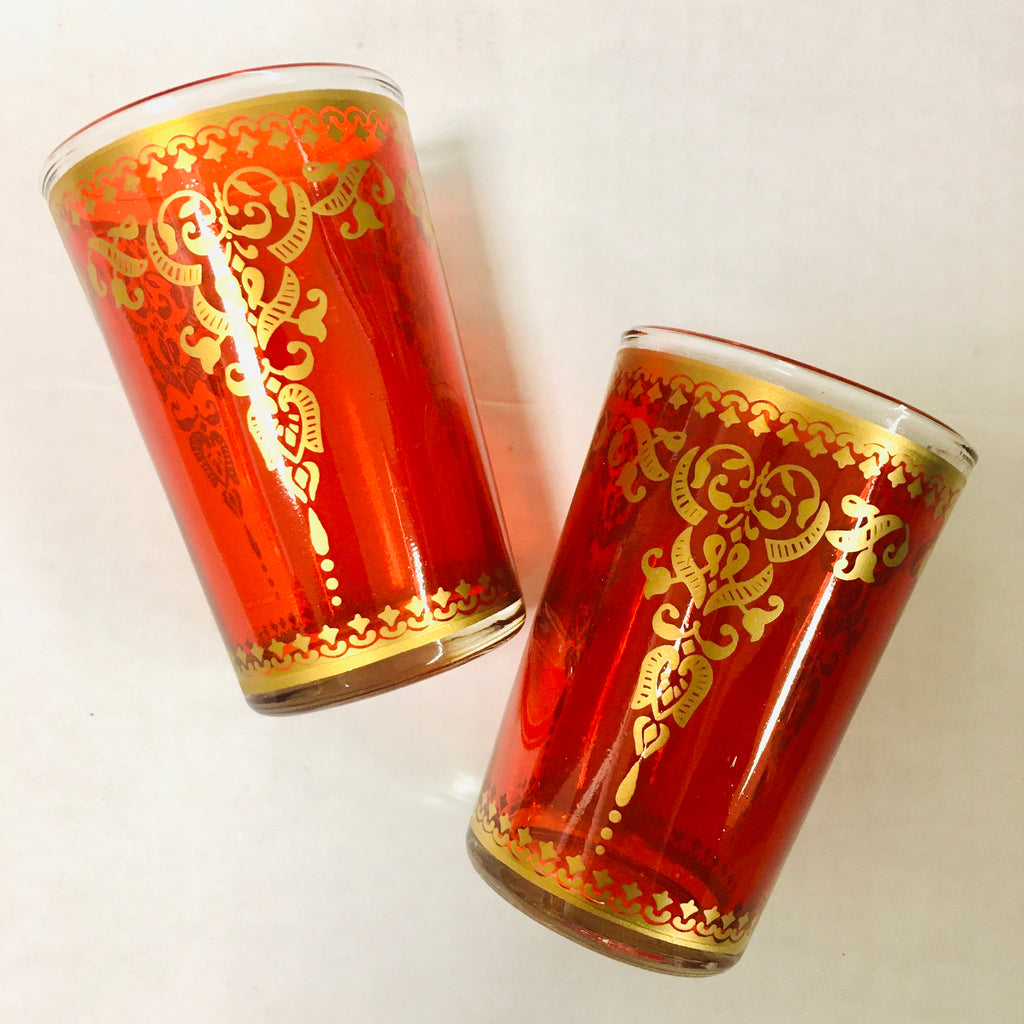 Mint Tea Glass Duo