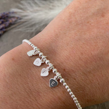 Load image into Gallery viewer, Sterling silver HOPE Bracelet, Personalised Word Bracelet