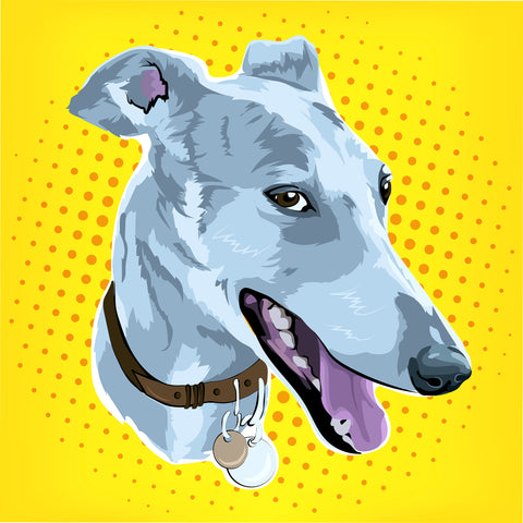 Pop Art Pet Portrait - PetPortraits.com