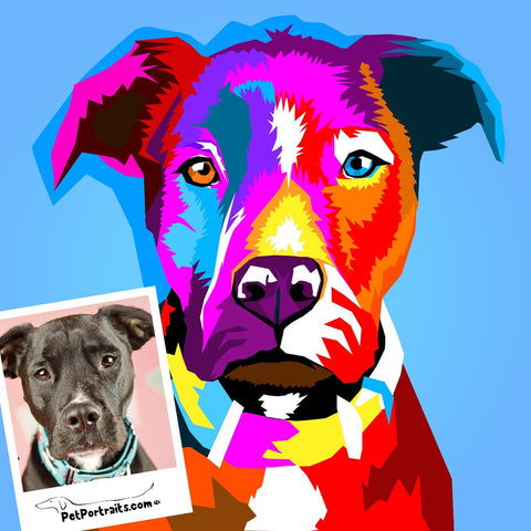 WPAP Pet Portrait - PetPortraits.com