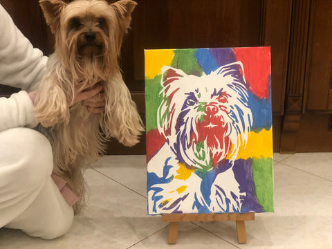 DIY Pet Portraits on canvas - PetPortraits.com