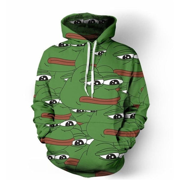 Pepe The Frog Hoodie Epic Devil