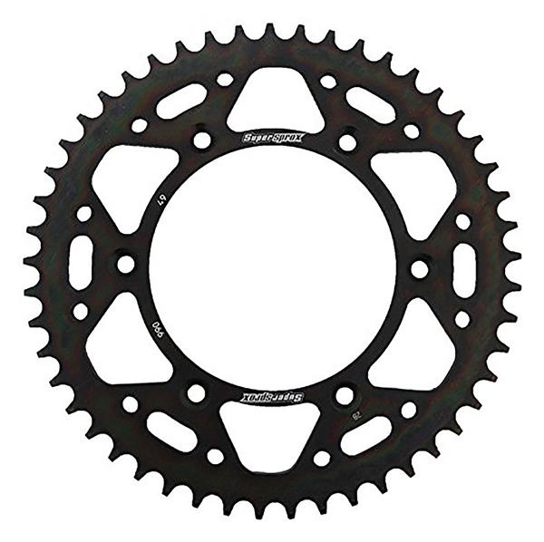 Supersprox-SPROCKET 37 Rear HONDA Black SUPERSPROX RAL-214-37-BLK