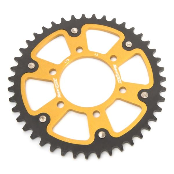 Supersprox-SPROCKET 43 Rear KAWA GLD SUPERSPROX RST-478-43-GLD