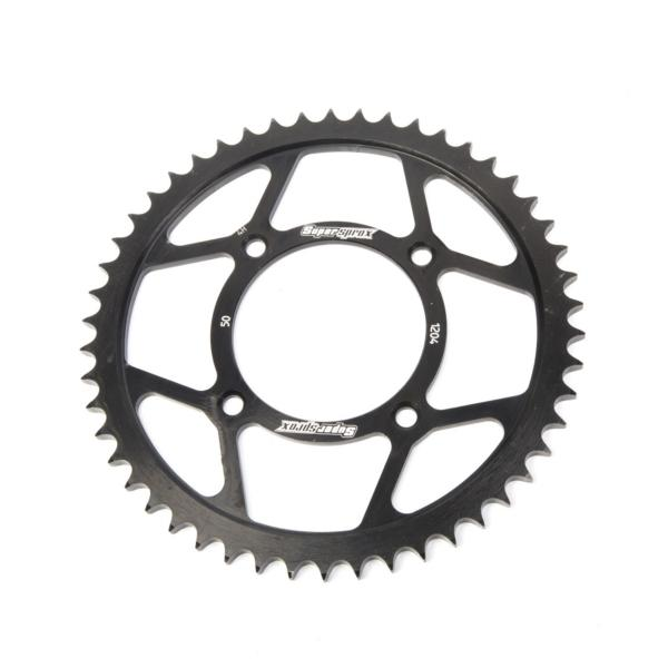 Supersprox-SPROCKET 50 Rear HONDA Black SUPERSPROX RFE-1204-50-BLK