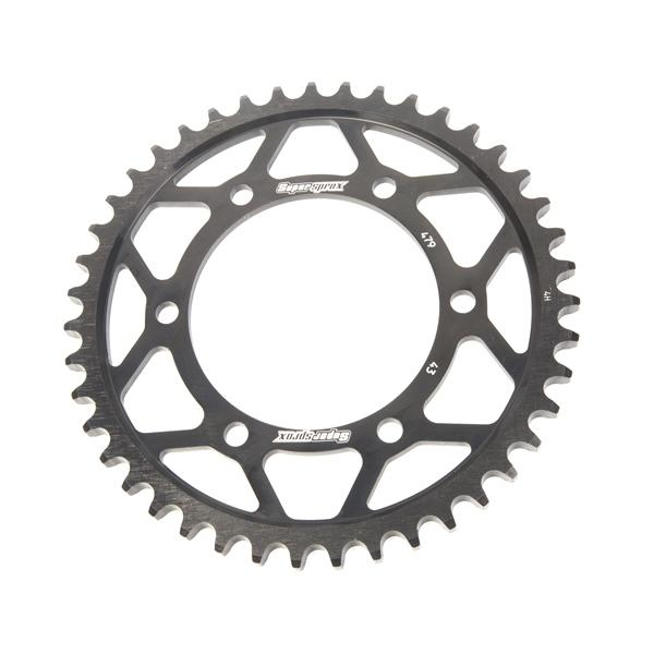 Supersprox-SPROCKET 43 Rear Suzuki Black SUPERSPROX RFE-479-43-BLK
