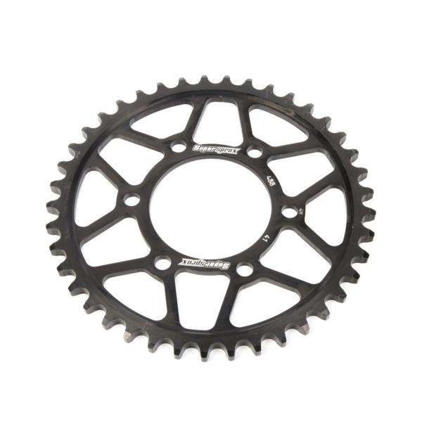 Supersprox-SPROCKET 41 Rear KAWA Black SUPERSPROX RFE-488-41-BLK