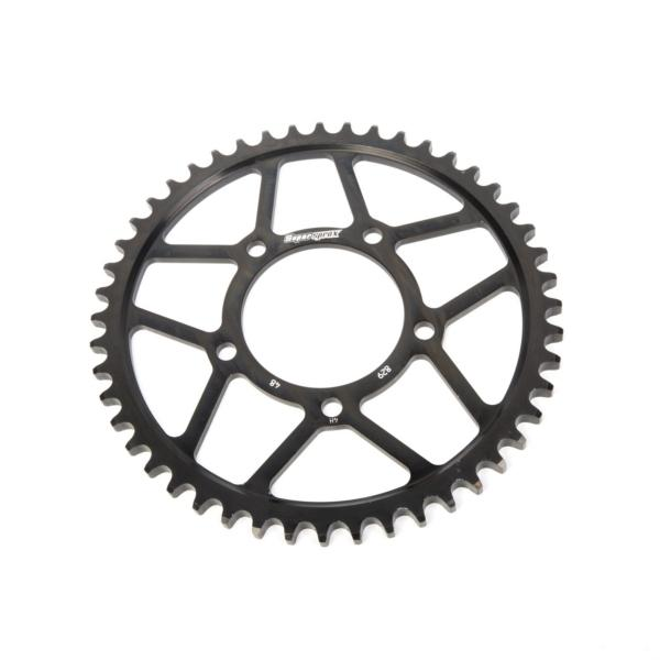 Supersprox-SPROCKET 48 Rear Suzuki Black SUPERSPROX RFE-829-48-BLK