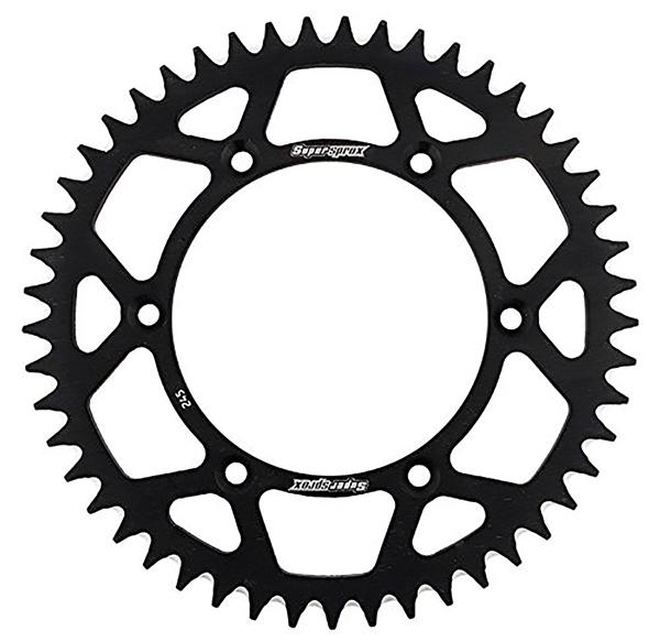 Supersprox-SPROCKET 51 Rear KAWA Black SUPERSPROX RAL-457-51-BLK