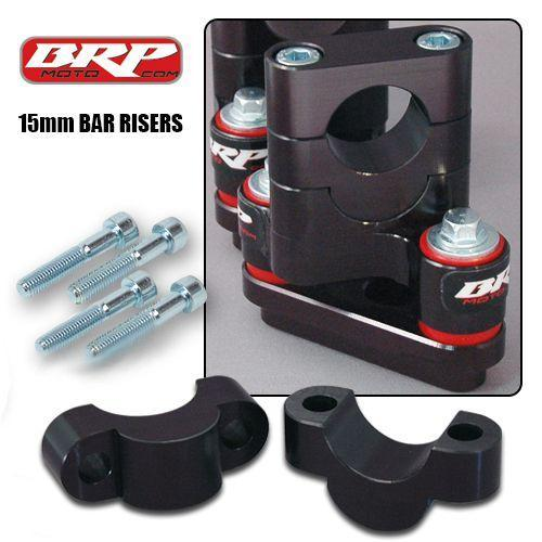 BRP - 15mm Handle Bar Risers for rubber mount kits
