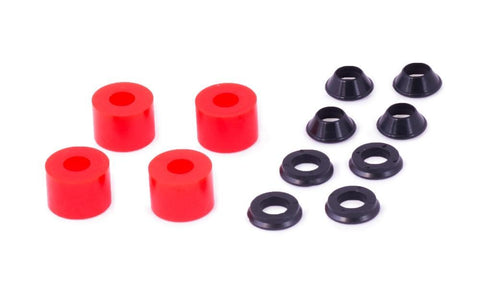Xtrig - Red hard elastomere-kit for PHDS handlebar clamps - 50400012