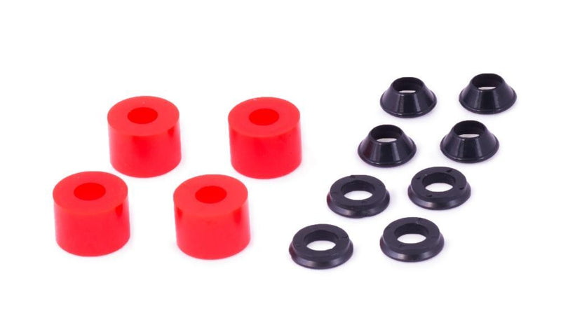 Xtrig Hard Elastomer Kit for PHDS Handlebar Clamps (Red) - 50400012