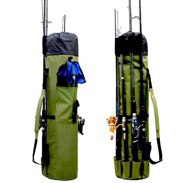 2019 TOP Rated Fishing Rod & Reel Organizer Bag ®
