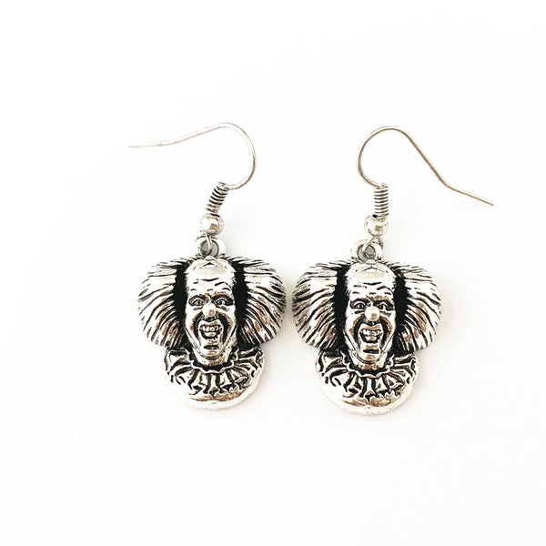 Horror Film Inspired - Chucky, Stephen Kings, IT Penny Wise - Horror Earrings