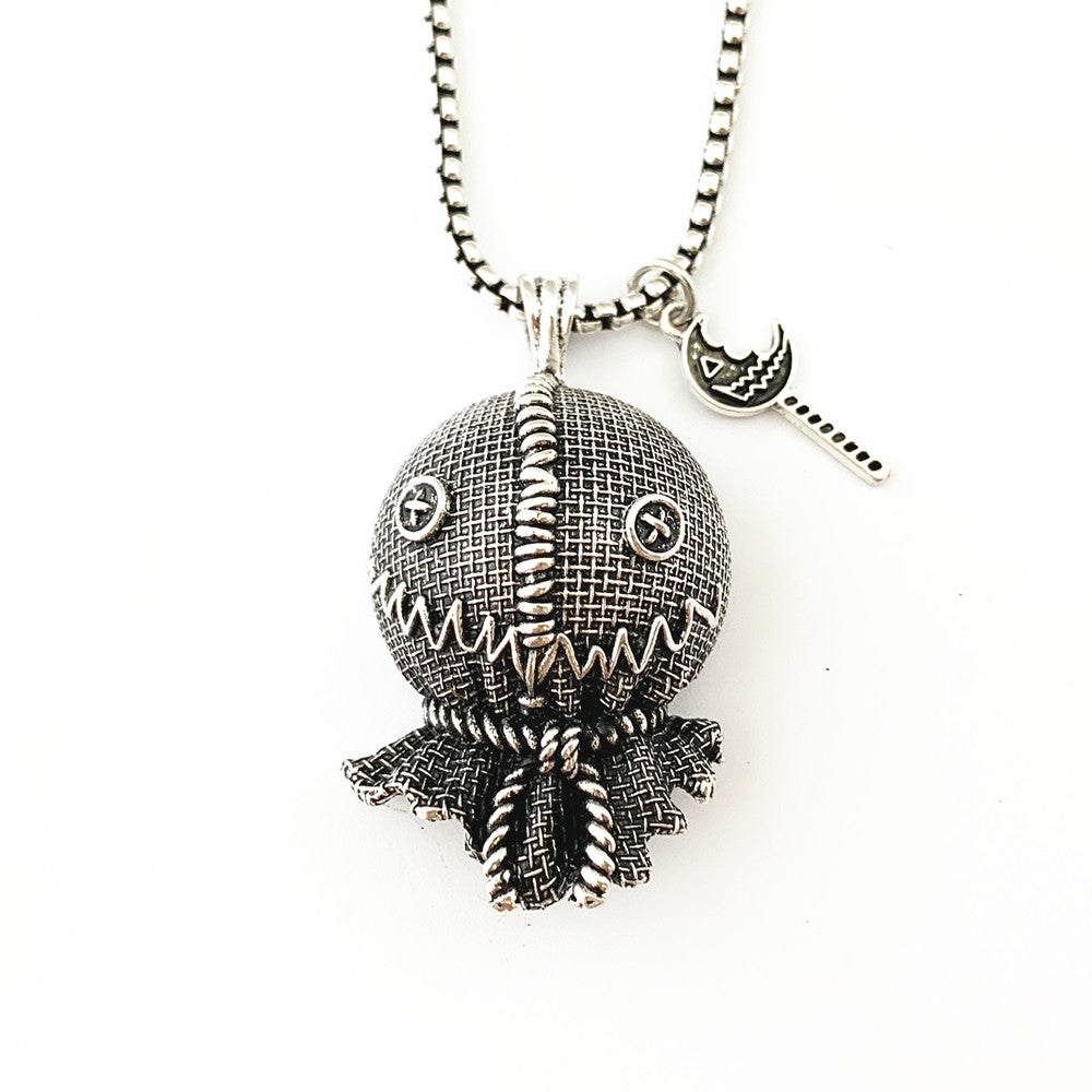 Horror Film Inspired - Halloween, IT, Pennywise, Sam Doll, Trick or Treat, Freddy Krueger, Nightmare on Elm Street - Necklace