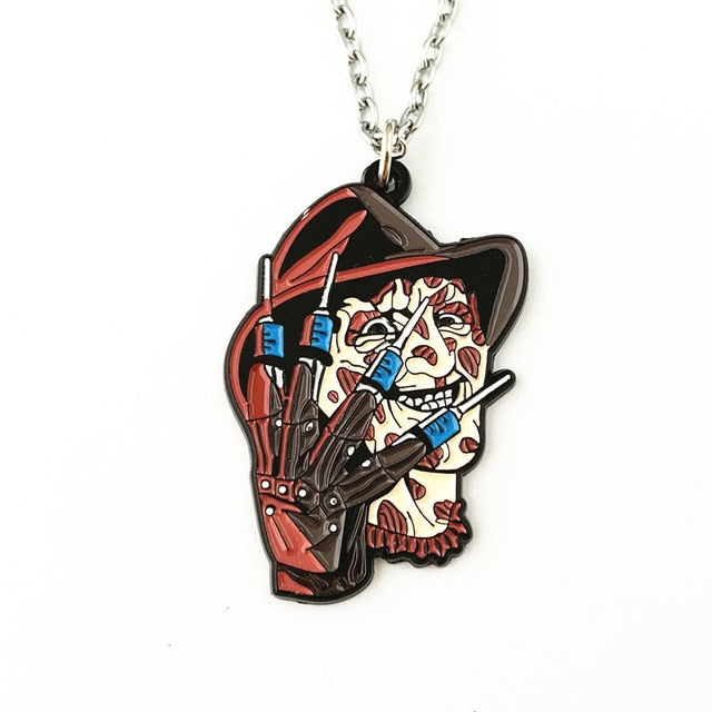 Horror Film Inspired - IT, Scream, Halloween, Nightmare on Elm Street, Friday the 13th, Chucky - Necklace