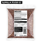 Gorilla Food Co. Brown Flax Seeds Whole Raw (2 x 1Lb) - Gorilla Food Co. USA