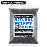 A1 Grade Poppy Seeds Blue - 2 x 1lb - Fast, Free Ship! - Gorilla Food Co. USA