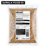 Gorilla Food Co. Golden Flax Seeds Whole Raw - Gorilla Food Co. USA