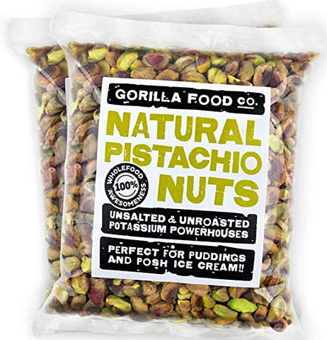 California Pistachios Shelled Raw (2-Pack) - Gorilla Food Co. USA