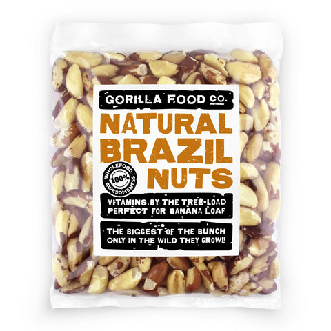 Finest Quality Brazil Nuts Raw Whole - Gorilla Food Co. USA