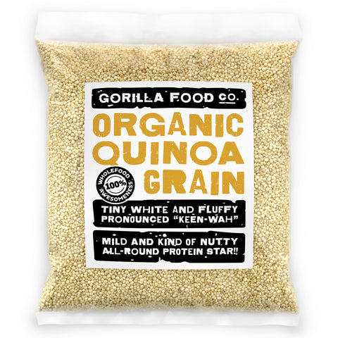 Organic White Quinoa - Gorilla Food Co. USA