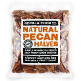 Premium Quality Raw Pecan Nut Halves - Gorilla Food Co. USA