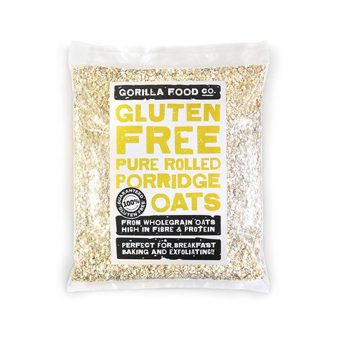 Gorilla Food Co. Gluten Free Rolled Oats 2LBs - Gorilla Food Co. USA
