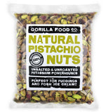 Premium Quality Raw Shelled California Pistachios - Gorilla Food Co. USA