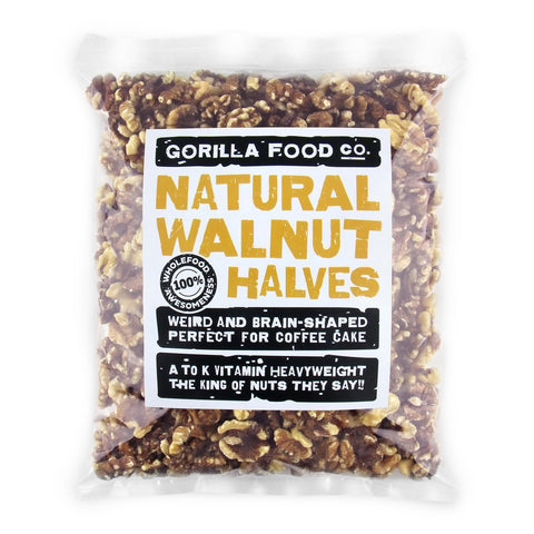 California Walnut Halves (Halves Only) - Gorilla Food Co. USA
