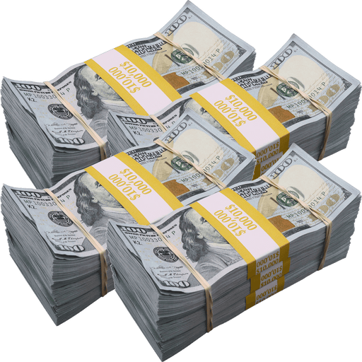 $120,000 Aged Full Print New Series Bundles Pack - PropMoney.com