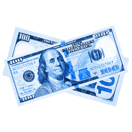 $100 New Series Blue Bills - PropMoney.com