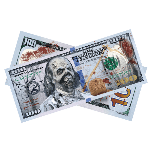 Happy Halloween Graveyard Bills - PropMoney.com