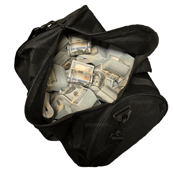 $500,000 New Series Blank Filler Bands Duffle Bag - PropMoney.com