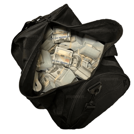 $500,000 New Series Full Print Bands Duffle Bag - PropMoney.com