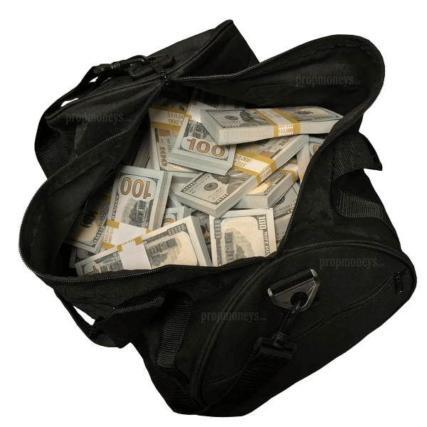 $500,000 New Series Blank Filler Stacks Duffle Bag - PropMoney.com