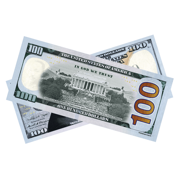 Martin Luther King Jr. Commemorative Bills - PropMoney.com