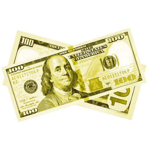 $100 New Series Yellow Bills - PropMoney.com