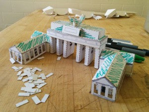 Making the Brandenburg Gate