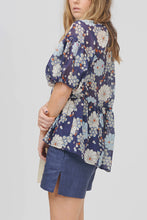 Summertime of Love Smock - NAVY