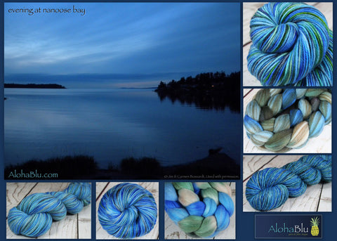 AlohaBlu - Evening at Nanoose Bay