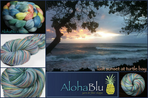 AlohaBlu - Last Sunset at Turtle Bay