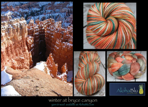 AlohaBlu - Winter at Bryce Canyon