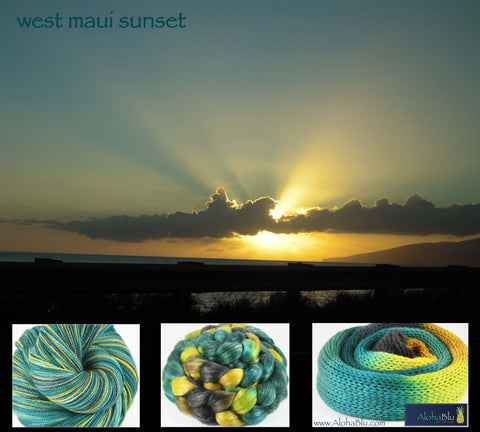 AlohaBlu - West Maui Sunset