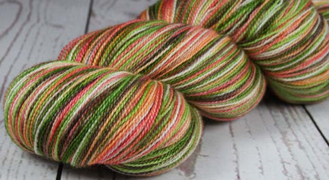 AHI POKE: Superfine Merino Silk - Hand dyed variegated lace yarn